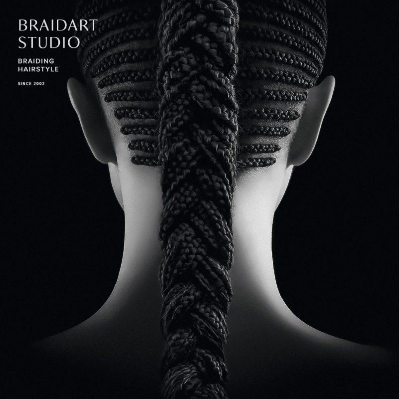 Объемная французская коса