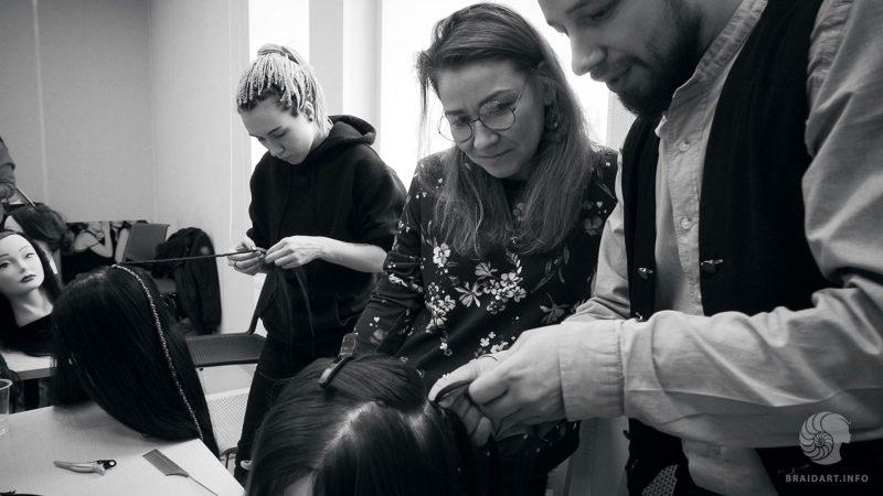 плетение кос с канекалоном обучение