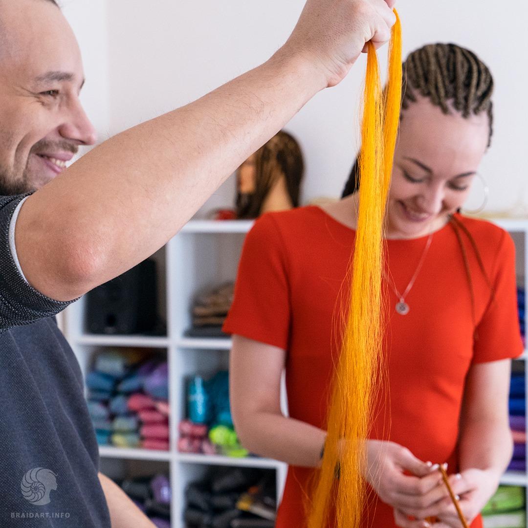 Обучение плетению