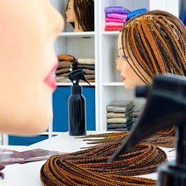 обучение плетению на качественных головах